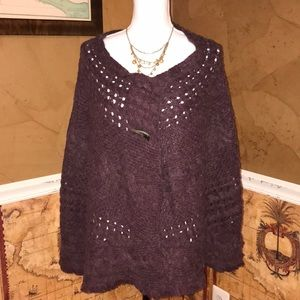 Free People Cable Knit Shrug
